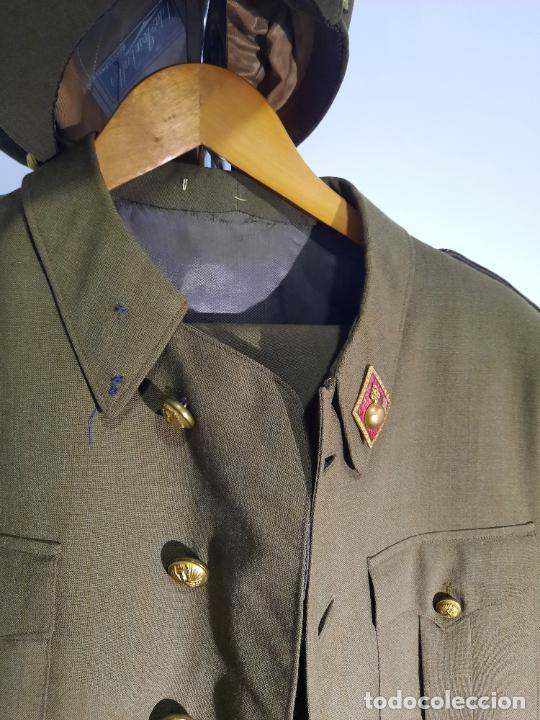 Militaria: uniforme militar español gorra,pantalon y chaqueta - Foto 5 - 242871405