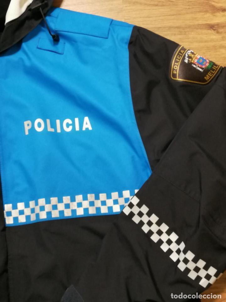 Militaria: Anorak Policía Local Melilla, Talla M - Foto 3 - 242989960