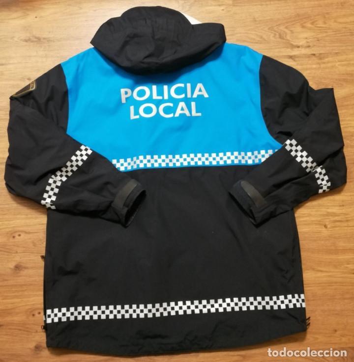 Militaria: Anorak Policía Local Melilla, Talla M - Foto 4 - 242989960