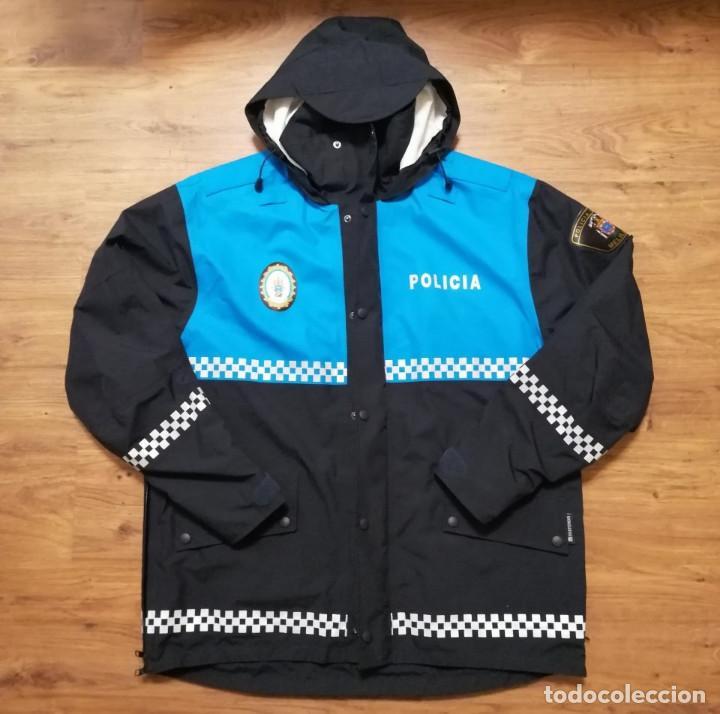 ANORAK POLICÍA LOCAL MELILLA, TALLA M (Militar - Uniformes Españoles )