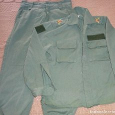 Militaria: UNIFORME MILITAR LEGIONARIO. LEGIÓN SARGA. PANTALÓN CHUPITA. PARA NIÑO MUJER DISFRAZ.. Lote 244026760