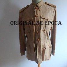 Militaria: (JX-210294)GUERRERA Y PANTALON DE ALFEREZ DEL GRUPO DE REGULARES XAUEN Nº 6. Lote 244184575