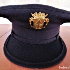 Militaria: ANTIGUO UNIFORME DE GALA BOMBEROS DE BARCELONA,DIPUTACION,GORRA,CHAQUETA,GABARDINA,PANTALON,AÑOS 70. Lote 247993175