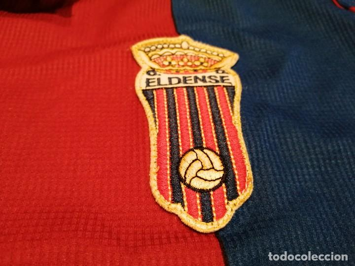 Militaria: Original   Futbol   Talla XL   Camiseta del Eldense años 90 MATCH WORN - Foto 2 - 252774220