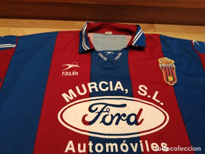 Militaria: Original   Futbol   Talla XL   Camiseta del Eldense años 90 MATCH WORN - Foto 3 - 252774220
