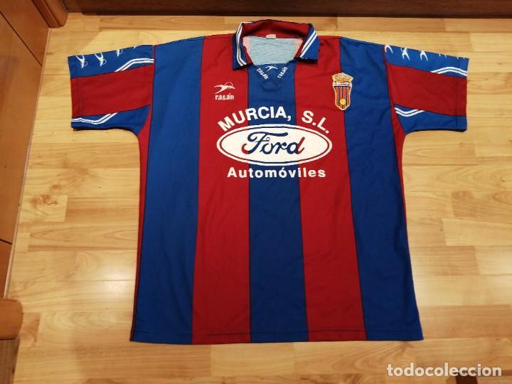 Militaria: Original   Futbol   Talla XL   Camiseta del Eldense años 90 MATCH WORN - Foto 4 - 252774220