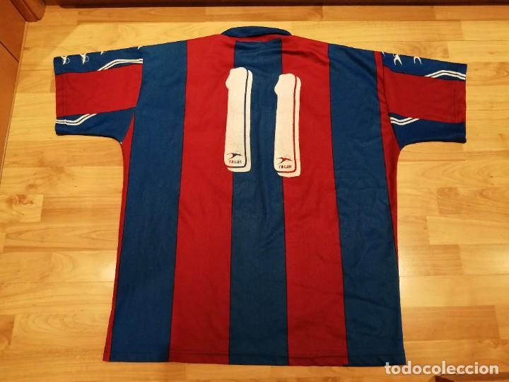 Militaria: Original   Futbol   Talla XL   Camiseta del Eldense años 90 MATCH WORN - Foto 5 - 252774220