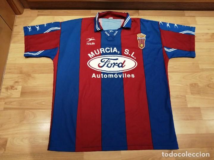 Militaria: Original   Futbol   Talla XL   Camiseta del Eldense años 90 MATCH WORN - Foto 6 - 252774220