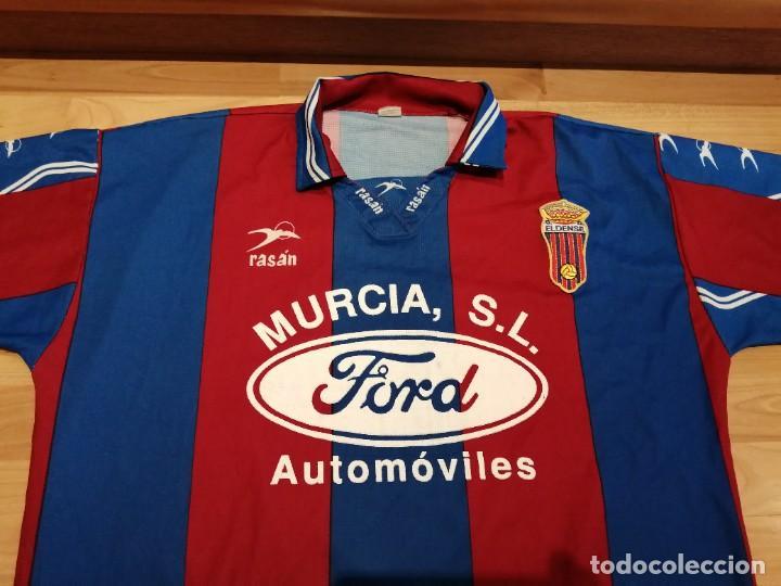 Militaria: Original   Futbol   Talla XL   Camiseta del Eldense años 90 MATCH WORN - Foto 7 - 252774220