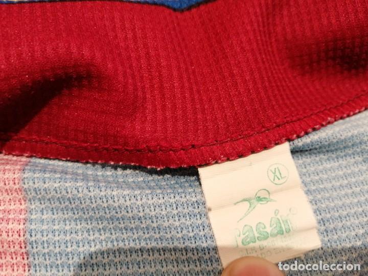 Militaria: Original   Futbol   Talla XL   Camiseta del Eldense años 90 MATCH WORN - Foto 9 - 252774220