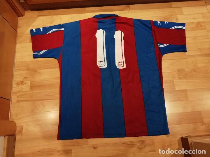 Militaria: Original   Futbol   Talla XL   Camiseta del Eldense años 90 MATCH WORN - Foto 12 - 252774220