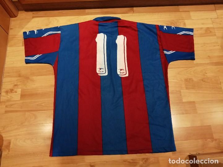 Militaria: Original   Futbol   Talla XL   Camiseta del Eldense años 90 MATCH WORN - Foto 13 - 252774220