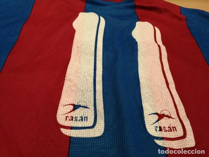 Militaria: Original   Futbol   Talla XL   Camiseta del Eldense años 90 MATCH WORN - Foto 15 - 252774220