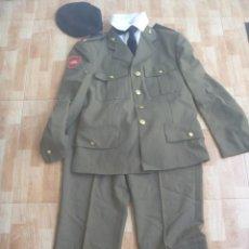 Militaria: UNIFORME COMPLETO DE SOLDADO DE PRIMERA DE INGENIEROS , DIVISION ACORAZADA , DEL 2000. Lote 254428370