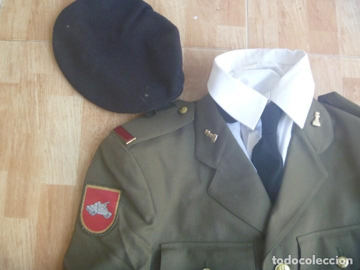 Militaria: UNIFORME COMPLETO DE SOLDADO DE PRIMERA DE INGENIEROS , DIVISION ACORAZADA , DEL 2000 - Foto 2 - 254428370
