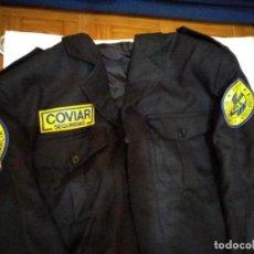 Militaria: CHAQUETA CHAQUETILLA SEGURIDAD PRIVADA COVIAR SEGURIDAD (TALLA 56). Lote 254911780