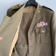 Militaria: UNIFORME MILITAR TALLA 56 GENERAL DIVISION ACORAZADA BRIAC XII MEDALLAS. Lote 255414275