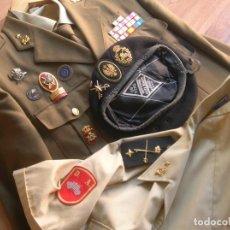 Militaria: UNIFORME DE GENERAL DE LA DIVISION ACORAZADA. REGIMIENTO ALCAZAR DE TOLEDO. ESTADO MAYOR CONJUNTO. Lote 263067155