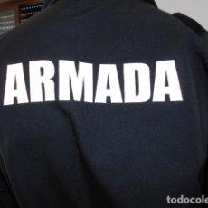 Militaria: UNIFORME DE LA ARMADA ESPAÑOLA DE FAENA IGNÍFUGO NUEVO CHAQUETA Y PANTALÓN. Lote 263678185