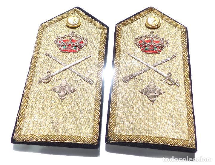 Militaria: HOMBRERAS ALMIRANTE CARLOS VILA MIRANDA. - Foto 5 - 264267944