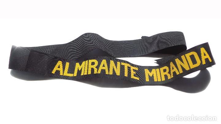 CINTA DE LEPANTO ALMIRANTE MIRANDA. (Militar - Uniformes Españoles )