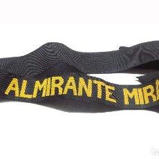 Militaria: CINTA DE LEPANTO ALMIRANTE MIRANDA.. Lote 264268496
