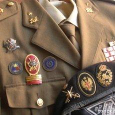 Militaria: UNIFORME DE GENERAL DE LA DIVISION ACORAZADA. REG. ALCAZAR DE TOLEDO. ESTADO MAYOR COMBINADO USA ESP. Lote 264431639