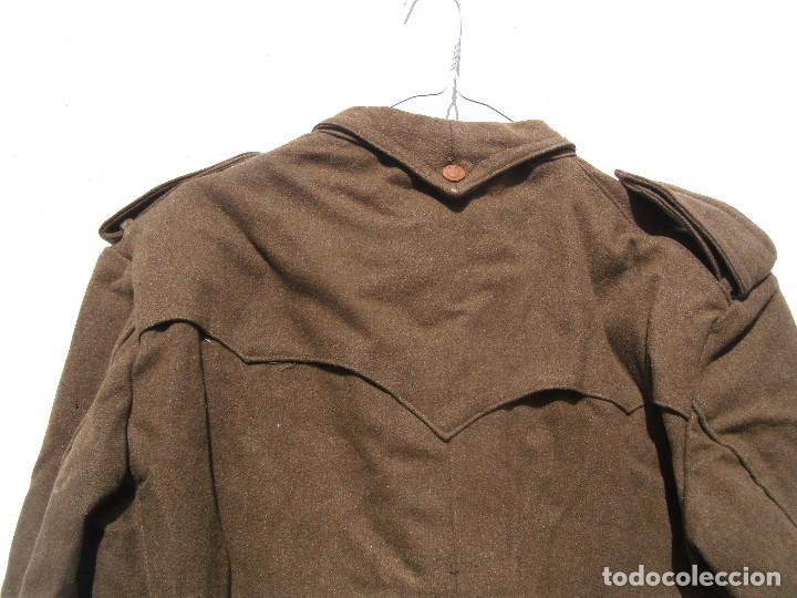 Militaria: SAHARIANA CAZADORES MONTAÑA,PAÑO, LANA. JACA . REGLAMENTO 1943 BUENA TALLA - Foto 7 - 264845419
