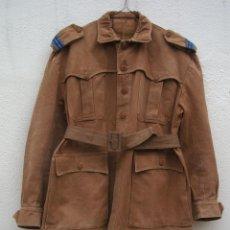 Militaria: SAHARIANA CABO TIRADORES DE IFNI. REGLAMENTO 1943, LONETA DE ALGODÓN, GARBANZO.. Lote 264956834