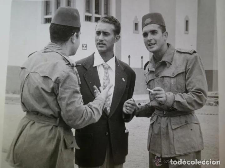 Militaria: SAHARIANA CABO TIRADORES DE IFNI. REGLAMENTO 1943, LONETA DE ALGODÓN, GARBANZO. - Foto 7 - 264956834