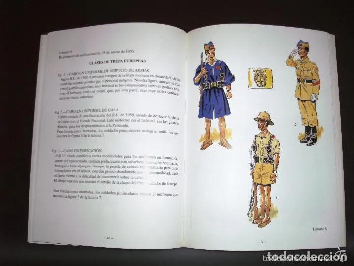 Militaria: UNIFORME ATN. TROPAS NÓMADAS, EJÉRCITO ESPAÑOL EN EL SÁHARA. LOTE 4 PIEZAS - Foto 16 - 265811274