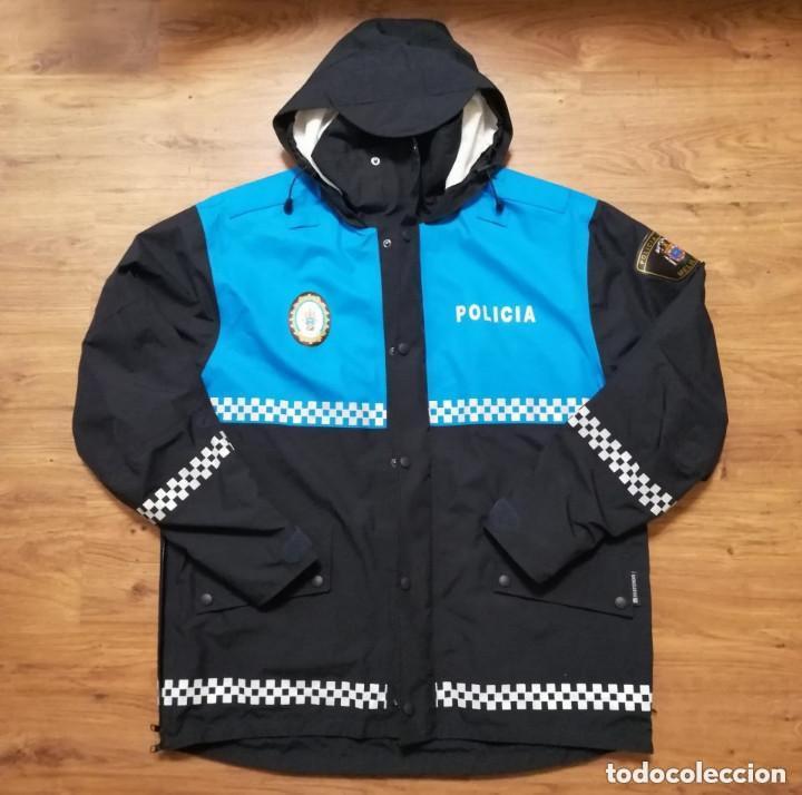 ANORAK POLICÍA LOCAL MELILLA, TALLA S (Militar - Uniformes Españoles )