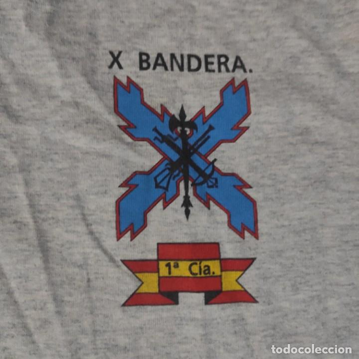 Militaria: CAMISETA USADA TALLA XL, X BANDERA 1 CIA LEGION, BUENAS CONDICIONES - Foto 3 - 268907089