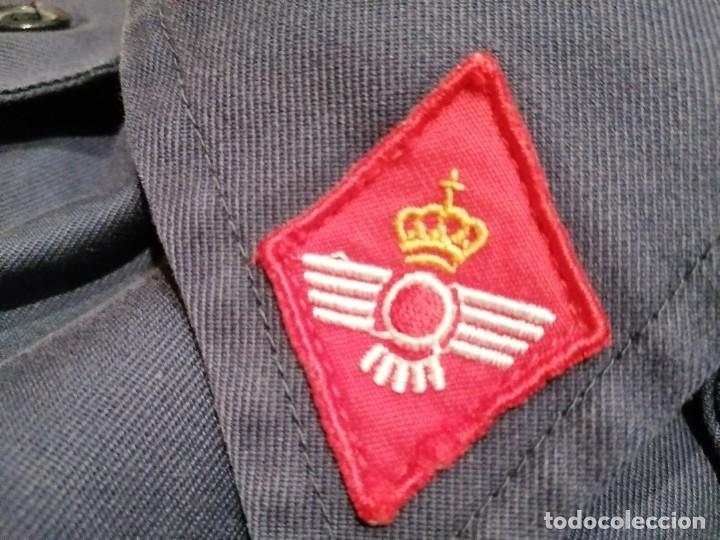 Militaria: ANTIGUA CAMISOLA CHUPITA DEL EJÉRCITO DEL AIRE. FECSA. TALLA 48 78. AÑO 1987 - Foto 2 - 268956279