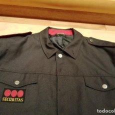 Militaria: UNIFORME COMPAÑIA DE SEGURIDAD SECURITAS, CHAQUETA. Lote 268993544