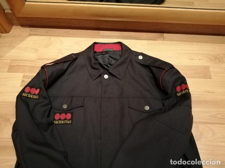 Militaria: UNIFORME COMPAÑIA DE SEGURIDAD SECURITAS, CHAQUETA - Foto 7 - 268993544