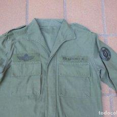 Militaria: CAMISOLA DE FAENA VERDE OTAN DEL EJÉRCITO ESPAÑOL. BRIPAC COES OPERACIONES ESPECIALES EMM. Lote 269118493