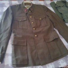 Militaria: CHAQUETA UNIFORME ARTILLERÍA FRANQUISTA. ALFÉREZ. GUERRERA MILITAR.. Lote 270143808