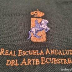 Militaria: REAL ESCUELA ANDALUZA DEL ARTE ECUESTRE. POLO OFICIAL (EXCLUSIVA MUNDIAL EN TC). Lote 274890358