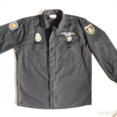Militaria: UNIFORME UIP POLICÍA NACIONAL PROTOTIPO NEGRO, CAMISOLA Y PANTALÓN. Lote 275509868