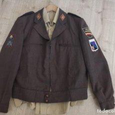 Militaria: LOTE 17 C.R.G(COMPAÑÍAS RESERVA GENERAL) POLICIA NACIONAL MARRONES/79-89. Lote 276169113