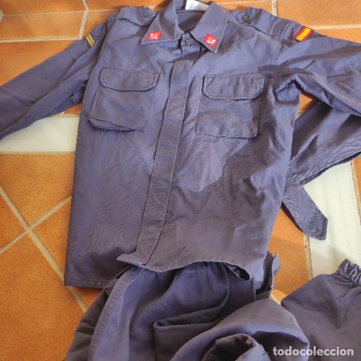 Militaria: UNIFORME DE LA AVIACION ESPAÑOLA, EJERCITO DE EL AIRE, USADO TALLA 54-74 - Foto 12 - 175514640