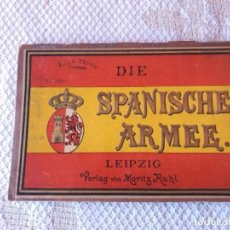 Militaria: REGLAMENTO UNIFORMIDAD SPANISHE ARMEE 1896. Lote 279577853
