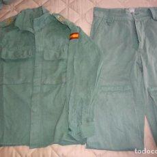 Militaria: UNIFORME MILITAR LEGIONARIO SARGA. LEGIÓN ESPAÑOLA. II BANDERA. TALLA 1N CHUPITA PANTALÓN USADO 1,5K. Lote 293708583