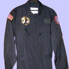 Militaria: MONO NEGRO DE PILOTO DE HELICOPTEROS BORDADO U.S.ARMY. Lote 27569149