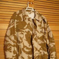 Militaria: DPM CHAQUETA COMBATE DESIERTO EJERCITO BRITANICO TALLA 170-104(TALLA MEDIANA ALTO-GRANDE PECHO).. Lote 26615941