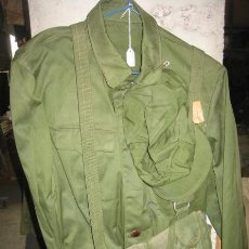 Militaria: CAMISOLA CHINA CON GORRA Y CARTUCHERA PORTAMUNICIÓN. Lote 15270966