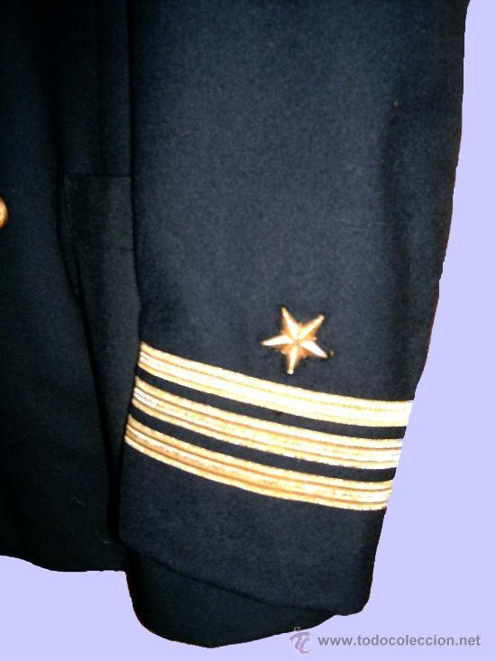 Militaria: AUTENTICO Y OBSOLETO UNIFORME DE CAPITAN TOP-GUN, U.S.NAVY (MARINA AMERICANA). - Foto 3 - 26610898