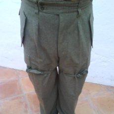 Militaria: PANTALON Y CHACETA SOLDADO ALEMAN. Lote 16975640
