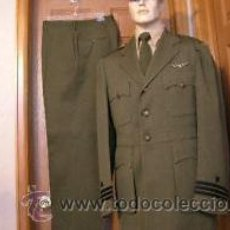 Militaria: UNIFORME AVIADOR NAVAL AMERICANO. SEGUNDA GUERRA MUNDIAL. INSIGNIAS AMICO STERLING. Lote 23738495